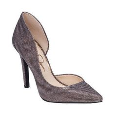 Women's Jessica Simpson Claudette Multi Bronze Sparkle Mesh