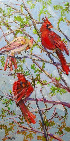 Afternoon Preening, by artist Jody Rigsby