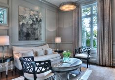 The New French Country Manor Born Living Room U2013 Carolina Home + Garden  Magazine