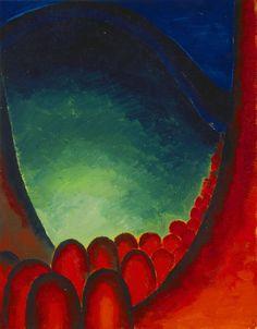 Georgia O'Keeffe (American, 1887–1986). No. 20—Special, 1916/17.