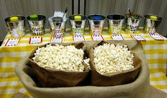 great idea using popcorn and yw values