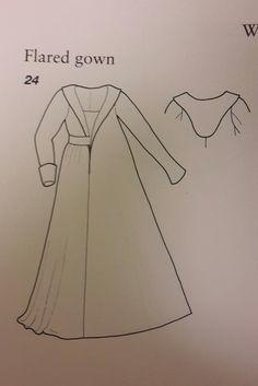 Resultado de imagem para 15th century burgundian gown pattern