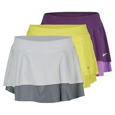 Women`s Flouncy Woven Tennis Skirt