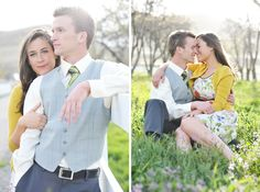 love the arm grab pose on the left. and the cuteness of it all. and her dress and cardigan...