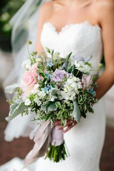 wedding color schemes blush ivory lavender - Google Search