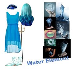 """""""Water Element"""" by videogamergirl2003 ❤ liked on Polyvore featuring Stuart Weitzman and Antonio Marras"""