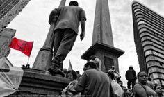 https://flic.kr/p/UeLHMX | Greve Geral . BH . Abr 2017  48 | Manifestaçao Greve Geral, Praça Sete BH . 28 Abr 2017 / Artexpreso . Jl Rodriguez Udias . Fotografia / *Photochrome ArtWork / #artexpreso #GreveGeral #SouBH #ForaTemer