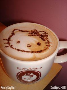 House Latte!!! 1/2 jar of honey  1/2 tsp. each : ground cloves, ginger, nutmeg, and cinnamon  2 tsp.'s of vanilla