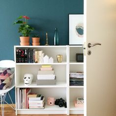 Low book shelf - Billy IKEA