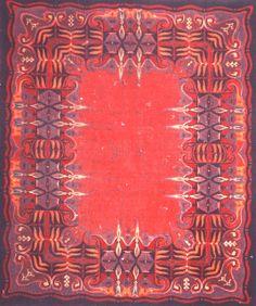 Art Deco vloerkleed / carpet.
