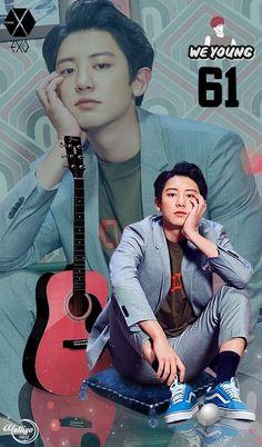 Ideas wallpaper cute exo for 2019 Exo Chanyeol, Kpop Exo, Kyungsoo, Chansoo, Baekyeol, Chanbaek, Kpop Lockscreen, Wallpaper Lockscreen, Luhan And Kris