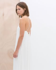 10 Zara Dresses You Could Rock at Your Wedding for $100 or Less (Plus a Few Mismatched Bridesmaid Dress Ideas)   Southern New England Weddings   Dress and Image from Zara