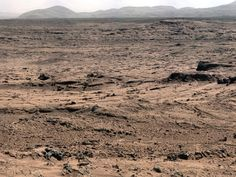 "NASA - Panoramic View From 'Rocknest' Position of Curiosity Mars Rover. This panorama is a mosaic of images taken by the Mast Camera (Mastcam) on the NASA Mars rover Curiosity while the rover was working at a site called ""Rocknest"" in October and November Curiosity Mars, Cosmos, Sistema Solar, Bomba Nuclear, Mars Science Laboratory, Mars Surface, Planets And Moons, Mission To Mars, Outer Space"
