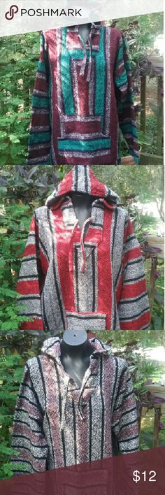 Baja style jacket Poly- cotton blend (unisex) Tops Sweatshirts & Hoodies
