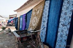 Tie-Dye. One of the specialty in north-western Yunnan Province, China.