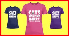 Cats Lover Edition Tees and Hoodies! in PINK, NAVY & PURPLE!  Limited Time Only - HURRY UP !!!  DON'T MISS YOUR CHANCE  Guaranteed safe and secure checkout via:  Paypal | VISA | MASTERCARD  Click Reserve It Now to pick your size and order!   Satisfaction guaranteed! http://teespring.com/cats-lover-edition