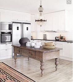 Intégrer un meuble vintage dans votre cuisine