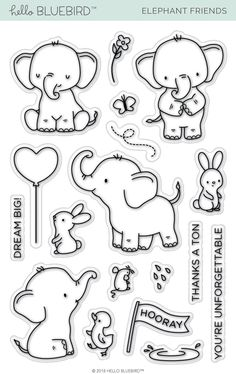 Paw Cute Dog Cat Bone Transparent Clear Silicone Stamp Seal DIY Scrapbooking