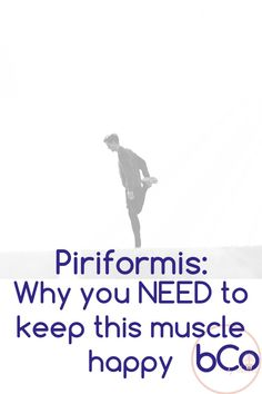 Piriformis: A muscle that is easy to overlook but can contribute to piriformis syndrom or sciatica like symptoms