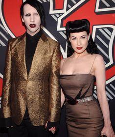 Dita Von Teese Reveals Why Her Marriage to Marilyn Manson Didn't Work Dita Von Teese Wedding, Dita Von Teese Burlesque, Dita Von Teese Style, Soft Grunge, Dita Von Tease, Corset, Vintage Burlesque, Marilyn Manson, Punk