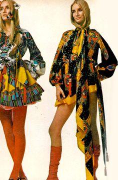 Photo by Richard Avedon, 1970. 1970s fashion
