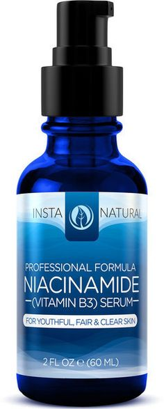 InstaNatural Professional Formula Niacinamide (Vitamin B3) Serum.  I have been using this after a friend who has great skin recommended this to me. I have definitely noticed that my breakouts have cleared up and my overall skin texture is much smoother and appears more hydrated. This has become a staple now!