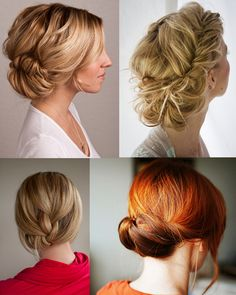 Elegant Low Buns