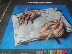 sidewalk chalk...impressive