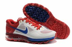 the latest 3561a fe44f Cheap Nike Air Max 2013 Men Shoes Red Blue White 1895878 for sports shoes