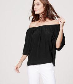 Image of Off the Shoulder Blouse