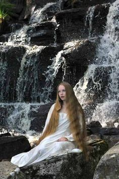 blonde waterfall | Flickr - Photo Sharing!