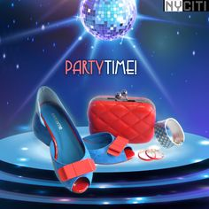 Sizzle this Saturday night with these magnificient accessories. This combo of Red & Blue is too hot to miss ;)