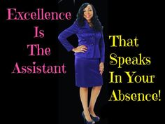 Excellence Is The Assistant That Speaks For You In Your Absence! It's a standard I always strive to keep! Do you? Happy Friday! Make It Count!! ================== www.OnlineQueen.org ================== #wahm #successcoach #successtips #womeninbusiness #womenwhowrite #bosschick #bossbabe #blogger #browngirlbloggers #womeninbusiness #womenwhosupportwomen #buildyourempire #goaldigger #girlboss #makeithappen #femaleentrepreneur #changeyourmindset #changeyourlife #knowyourworth