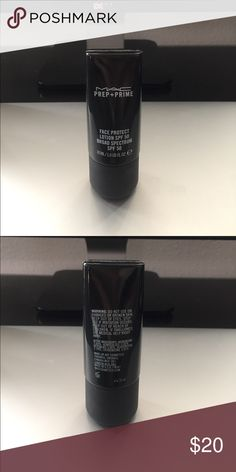 MAC face protect lotion SPF50 broad spectrum SPF50 Only used 2 times. Good condition. MAC Cosmetics Makeup Face Primer