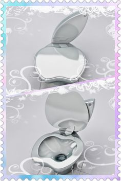 Lol! iPoo #Apple Toilet! Is it wrong of me to secretly want one? (original toilet pics from: M. Paripovic) #geek #funny