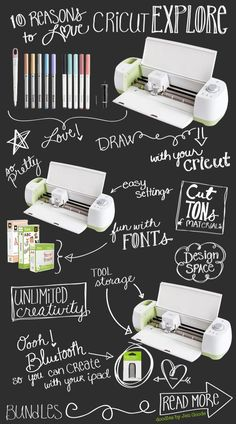 10 Reasons to Love the Cricut Explore - Doodled by Jen Goode
