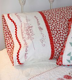 embroidered-pattern-night-before-christmas-pillowcase
