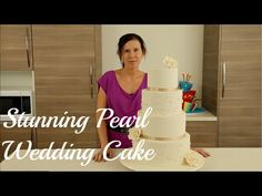 The most beautiful Wedding Cake tutorial. Free on You Tube - Cake Style