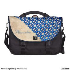 Andean Spider Laptop Messenger Bag