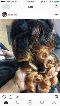 Pinterest: @MurderBeeWrote Dope Hairstyles, Pretty Hairstyles, Love Hair, Gorgeous Hair, Curly Hair Styles, Natural Hair Styles, Natural Curls, Blond, Hair Laid