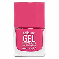 nails inc. Gel Effect Polish in Downtown - pink. Heard this polish is awesome and long lasting.