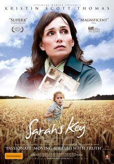 Sarah's Key, by Kristin Scott Thomas. What an an amazing and passionate story. Aidan Quinn, Sarah Key, Kristin Scott Thomas, Great Movies, Great Books, Elle S'appelait Sarah, See Movie, Movies Worth Watching, Film Serie