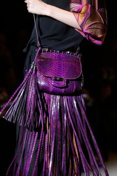 Gucci S/S 2014.  Such a gorgeous purse for next spring!  Love the size and the color-such a perfect pop of color against any outfit-definitely would get you noticed!