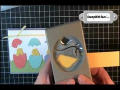Bird Punch Peeps and Eggs Tutorial Easter Punch Art Stampin' Up!