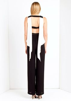 Lolita - Black and White Jumpsuit