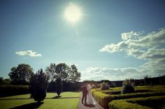 Dream Irish Wedding in walled garden #Knappogue Castle #weddinginireland #castlewedding