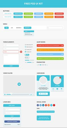 Free PSD UI kit, #Alert, #Buttons, #Checkbox, #Dropdown, #Form, #Free, #Login, #Menu, #Navigation, #Pagination, #Player, #Profile, #Progress, #PSD, #Radio, #Resource, #Search_Field, #Slider, #Switch, #Toggle, #Tooltip, #UI, #Volume