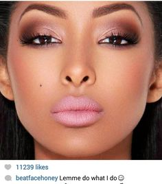 Beat Face Honey... her face is donnnne I love the way she still looks so natural. I love it!!