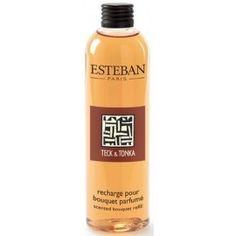 Recharge pour bouquet parfumé Teck et Tonka - ESTEBAN 21.90 € livré gratuitement dans le relais colis de votre choix !