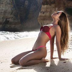 "NYOS SS15 CAMPAIGN ""WILDERNESS BY THE SEA""  Model CHIARA  #beach #bikini #beachwear #bathingsuit #australia #california #fit #fitness #florida #hot #ibiza #inspo #inspiration #la #miami #malibu #nyos_swimwear #ootd #tbt #portugal #sea #summer #sunday #swimwear #summer2015 #tan"